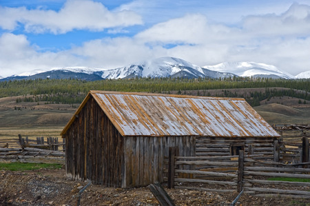 hayden: The Hayden Ranch south of Leadville, Colorado was established in 1859, mainly producing hay for miners horses and mules during Leadvilles mining boom.  In the latter 1890s, the ranch began running cattle, but fell into disrepair when it was all but aba