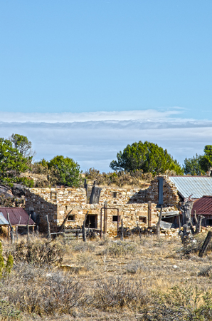 This old stage coach stop was located on the Santa Fe Trail, close to Hole In The Rock around Thatcher, Colorado.