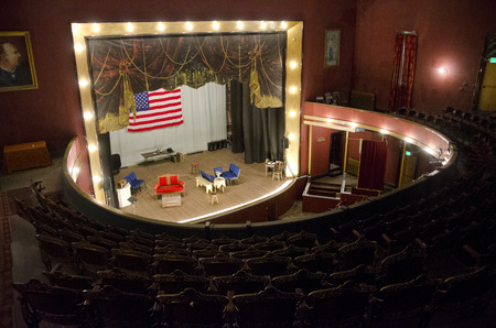 Built in 1879, the Tabor Opera House still stands in Leadville, Colorado.  It has housed such celebrities as Harry Houdini, John Philip Sousa and Oscar Wilde and was built by mining baron, Horace Tabor.