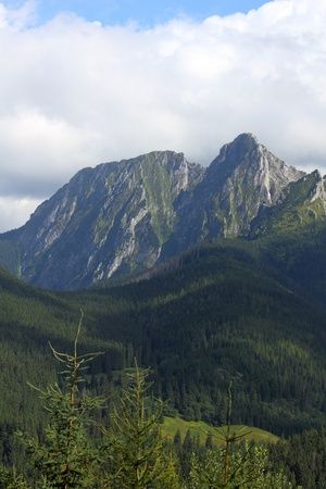 giewont: Mount Giewont in Tatra Mountains