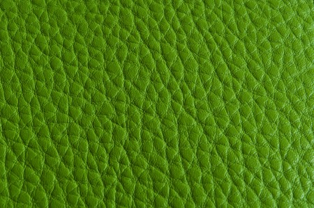 Closeup of leather texture,Green Color Stock Photo - 7311441
