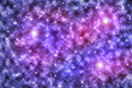 An image of a bright stars background Stock Photo - 8455242