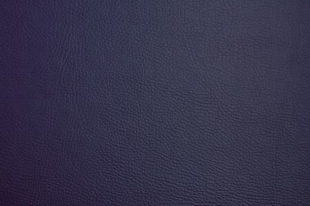 faux leather texture. dark blue color. macro photo Foto de archivo
