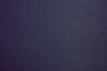 faux leather texture. dark blue color. macro photo Stock Photo