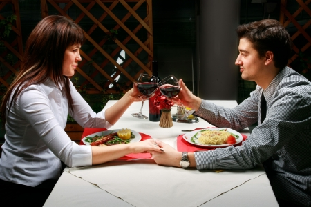 Young couple enjoyng their time together. Stock Photo