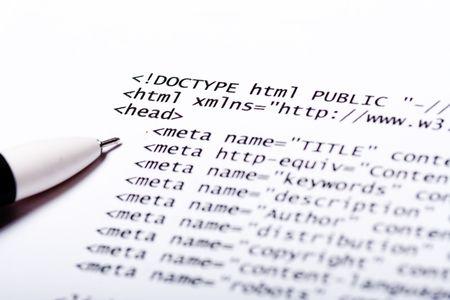 metadata: Stampato su carta computer tecnologia del codice a sfondo