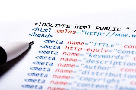 metadata: Stampato su carta computer sfondo codice tecnologia