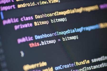 Java-Quellcode Standard-Bild - 46610805