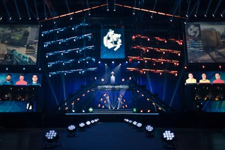 Elektronische Spiele Turnier sucht seine Gewinner Standard-Bild - 50826302