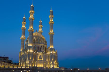Mosque in Baku, Azerbaijan