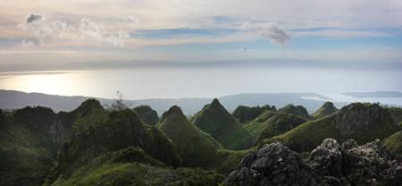 Osmenia Peak Cebu Dalaguete Mantalongon Standard-Bild