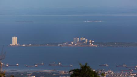 Mactan Island Punta Engano from Cebu City Photo with Zoom Lense