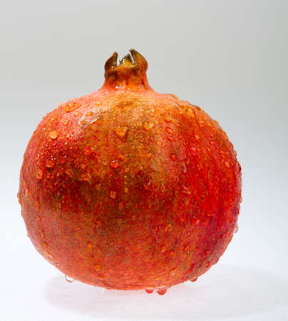 Pomegranate isolated on a white background. Stock Photo