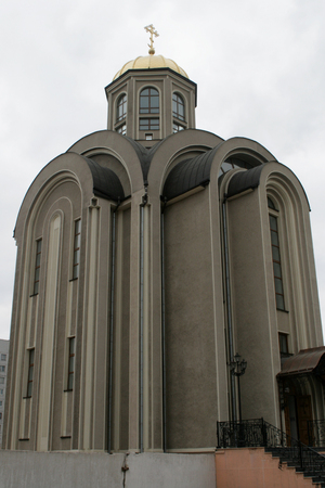 donetsk: Church in Donetsk Orthodox Cathedral in downtown Donetsk
