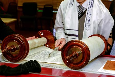Jüdischen rituellen Kleidung Familie Mann Mizwa jerusalem gekleideter Mann Standard-Bild - 51767605