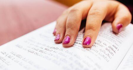 menora: Jewish judaism culture holiday torah tova seasonal glitter glow