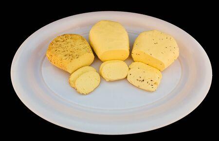 Cottage Cheese white plate organic calcium fresh protein