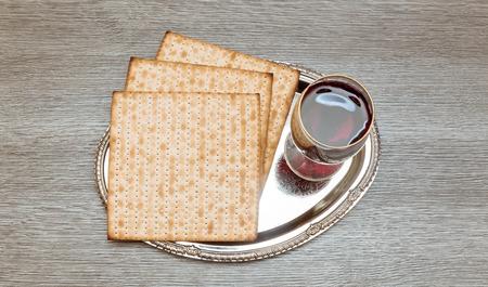 jewry: wine and matzoh jewish passover bread Passover matzo Passover wine