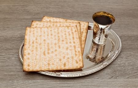 jewish: wine and matzoh jewish passover bread Passover matzo Passover wine