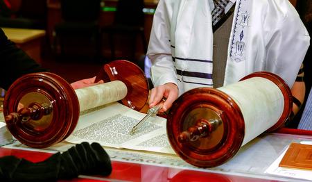 mitzvah: Jewish man dressed in ritual clothing family man  mitzvah jerusalem