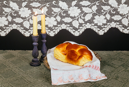shabat: Shabbat Shalom - Traditional Jewish Sabbath ritual Saturday Sabbath