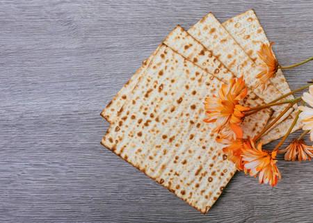 matzah: Pesah celebration concept jewish Passover holiday Passover matzah