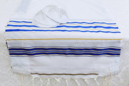 jewish: Yarmulke, a Jewish head covering Bar Mitzhvah jewish religious symbol