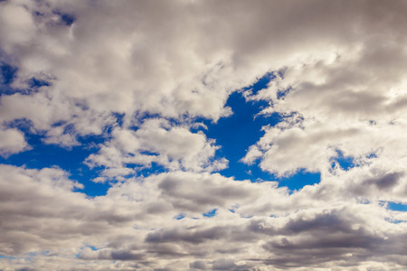 clouds in the blue sky cloudscape, cumulus, landscape, air Stock Photo - 65292656