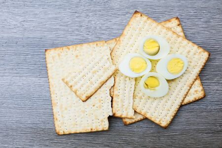 pesakh: Jewish holiday Matzoh Pesah celebration concept jewish Passover holiday Stock Photo