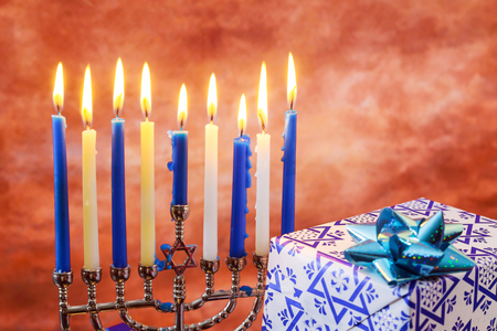 judaical: Jewish holiday Hanukkah Star of David Hanukkah menorah