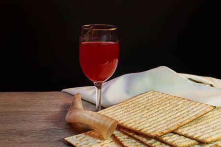 matzah: Jewish holiday Pesah celebration concept jewish Passover holiday Passover matzah