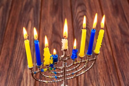 Hanukkah menorah candles Jewish holidays Hanukkah, the Jewish Festival of Lights