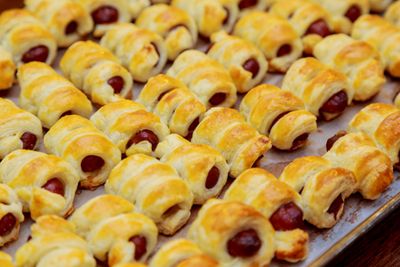 Homemade Pigs in a Blanket Ready to Eat pigs in blankets