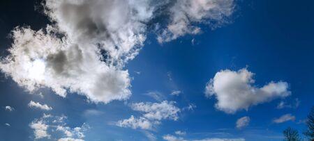 sky clouds flight