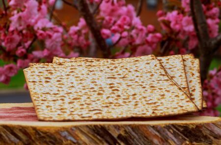 Jewish holiday, Holiday symbol Pesah celebration concept jewish Passover holiday . Stock Photo
