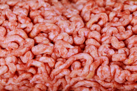 Raw ground beef as the background ground beef