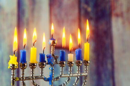 Jewish Holiday Holiday Symbol Hanukkah The Jewish Festival Stock