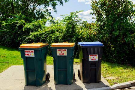 Plastic trash , Dumpsters being area, background bag Stok Fotoğraf