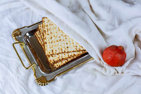 Pesach celebration concept Jewish Passover holiday Haggadah Passover Tale