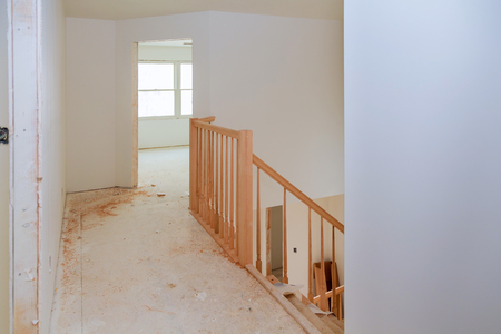 Stairs Renovtion. Handrails Renovation. Installation Of Wood Stairs Wizard  For Wooden Railing For Stairs