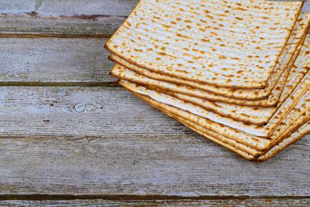 Jewish pesah celebration concept jewish holiday passover matzot