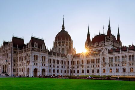 The National old building parliament in Budapest Hungarian