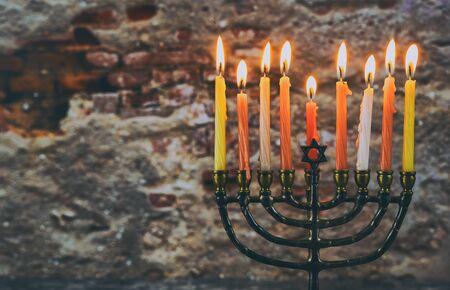 Jewish Holiday symbol Star of David Hanukkah menorah Hanukkah, the Jewish Festival of Lights