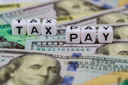 Individual income tax return of one hundred dollar bills Pay Tax