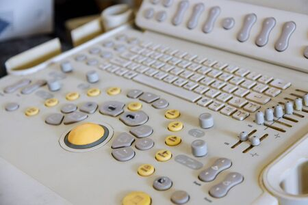 Diagnosis of ultrasound examination medical equipment Selective focus Standard-Bild