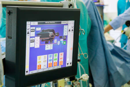 Cardiopulmonary bypass monitor, artificial blood circulation apparatus on the intensive care unit