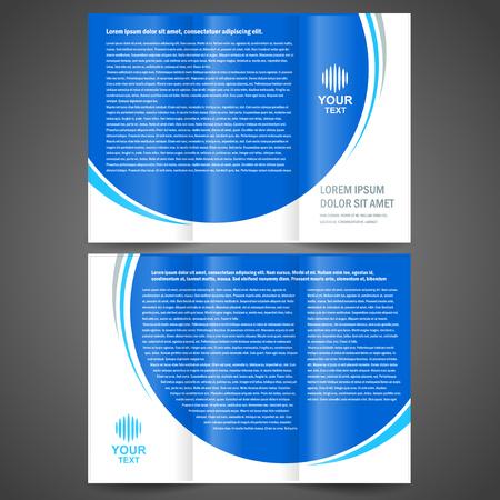 brochure map eenvoudig ontwerp