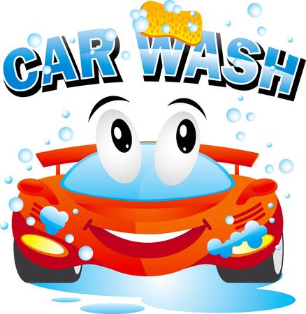 洗車  イラスト・ベクター素材