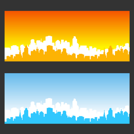 city background: city background color
