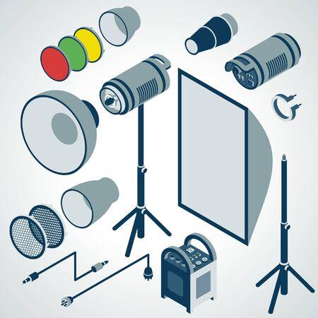 strobe: flash studio professional strobe element set